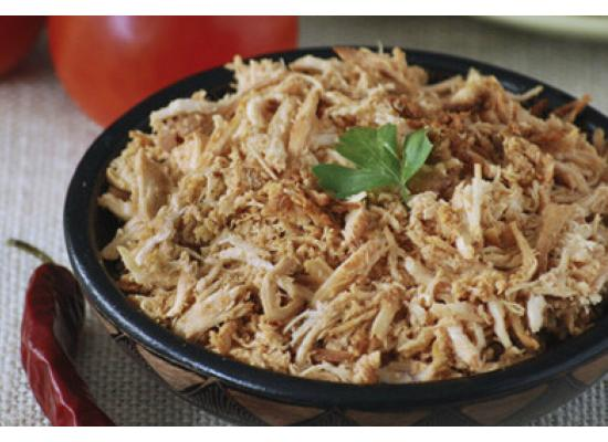 CARNE DE POLLO PULLED(hebras)