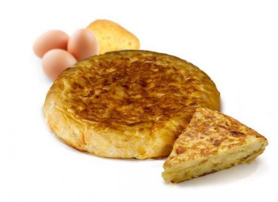 Tortilla sin cebolla redonda 700 g