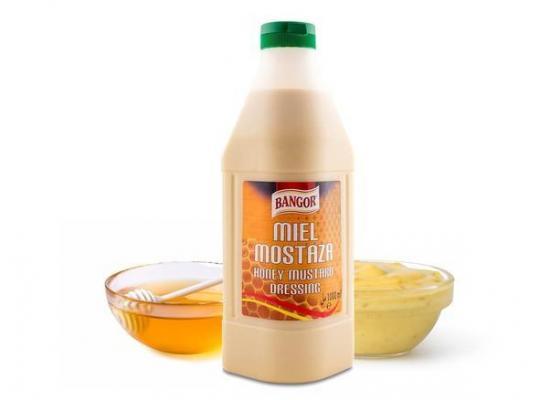 Salsa Miel&Mostaza botella 1lt
