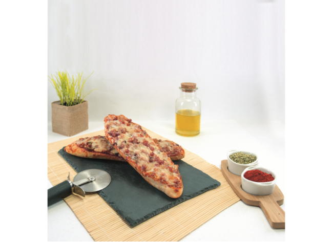 Pan Pizza MEGA jamón york 190g