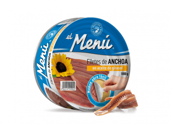 Anchoas Menu 515 g