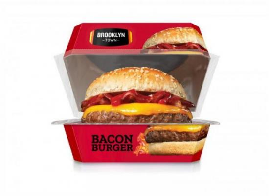 Hamburguesa vacuno bacon200g  brooklyn tow lista