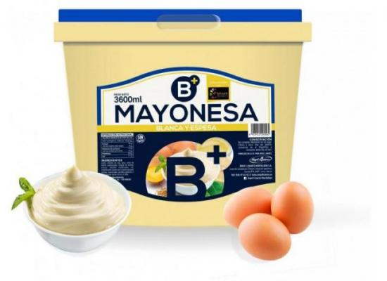 Mayonesa B+ 70%MG cubo 3600ml