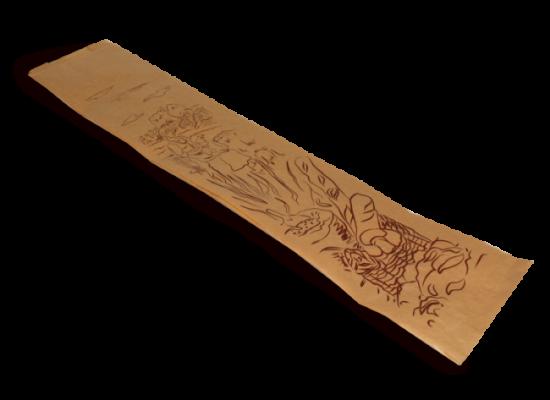 Bolsa bocata papel kraft 10x4x33 - Ref: 11K