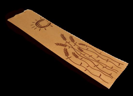 Bolsa baguette papel kraft 9x5x51 - Ref: 15K