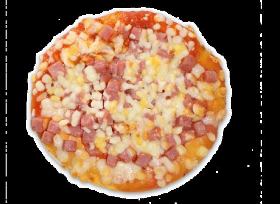 Pizzas super REDONDA york-queso 190g