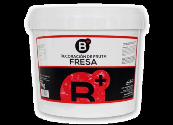 Decoración fruta fresa crema B+ 7kg