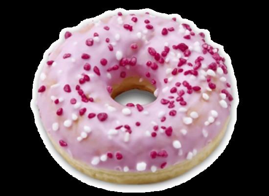 Dots Pink & White 74g