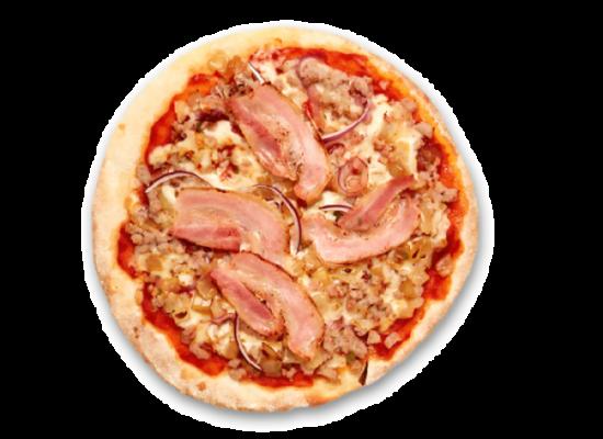Pizzas FINA redonda BBQ 375g