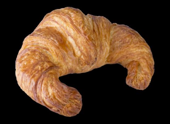 Croissant  Vienés curvo 90g