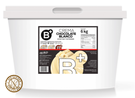 Crema chocolate blanco B+ 6kg