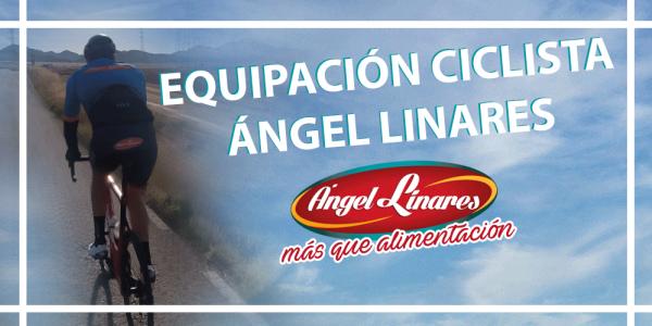 Así luce la nueva equipación ciclista de Ángel Linares
