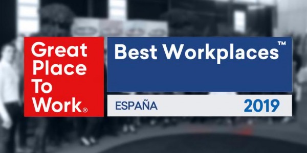 Entrega Certificado GREAT PLACE TO WORK 2018