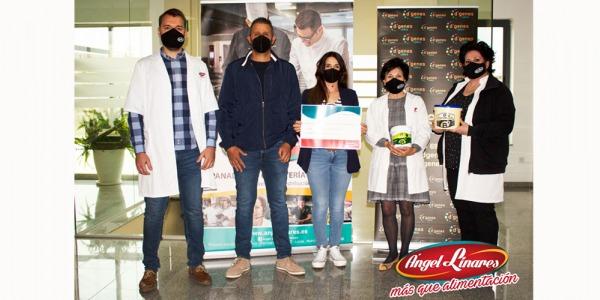 Ángel Linares colabora con la Asociación de Enfermedades Raras D'Genes