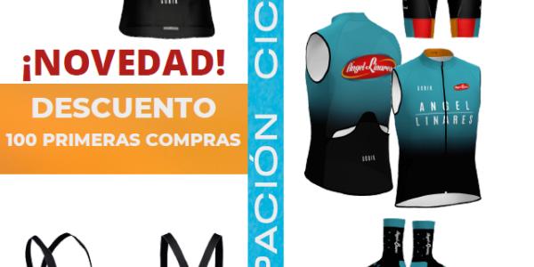 Ángel Linares lanza su equipación de ciclismo